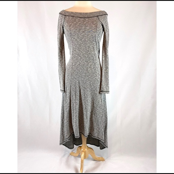 Anthropologie Dresses & Skirts - Anthropologie high-low sweater dress size xs